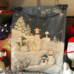 Other - Snowman wall hanging, lights up